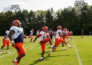 The SU football team is looking to improved upon its last three years, a period during which the Orange won 11 games.